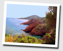 holidays sea view corniche_de_l_esterel