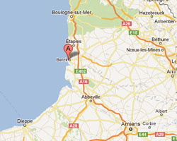 map Berck-Plage