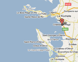 map Chatelaillon-Plage