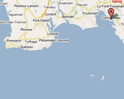 map Concarneau